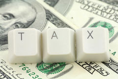 Concept of tax Stock Images