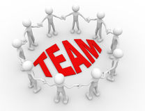 Concept of team Stock Photography