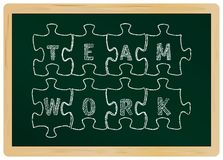 concept: teamwork Royalty Free Stock Images