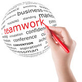 Concept of teamwork Stock Photos