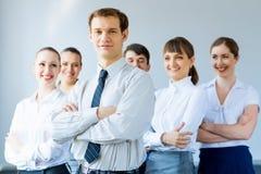 Concept of teamwork Stock Photos