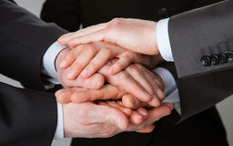 Concept of teamwork Royalty Free Stock Photography