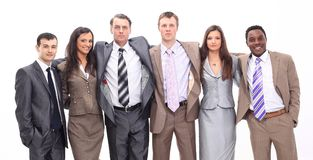 Portrait of successful business team Royalty Free Stock Photo