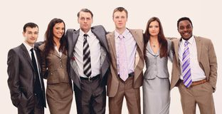 Portrait of successful business team Stock Photo
