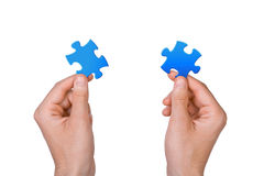Concept of teamwork Royalty Free Stock Photo