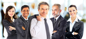 Concept of teamwork and partnership Stock Photo