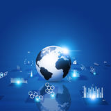 Concept Technology Communication Interface Stock Image