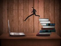 Concept Of Technology Migration Royalty Free Stock Images