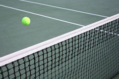 Concept of tennis game Stock Images