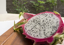 Concept thaïlandais sain tropical de pitaya de pitahaya de fruit du dragon Photo libre de droits