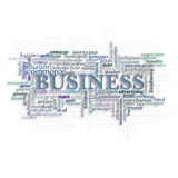 The concept on a theme business. Stock Image