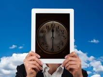 Concept tijd in zaken royalty-vrije stock foto's