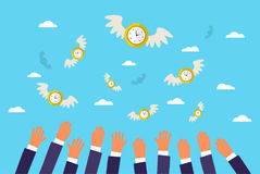 Concept of time. Stock Photos