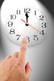 Concept of time control Royalty Free Stock Photos