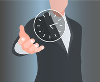 Concept of time. Illustration of a concept of time Stock Photo