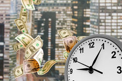 Concept - Time is money. Stock Photo