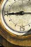 Concept of time with an old clock Royalty Free Stock Image