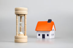 Concept - time to buy a property Stock Images