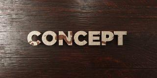Concept - titre en bois sale sur l'érable - image courante gratuite de redevance rendue par 3D illustration libre de droits