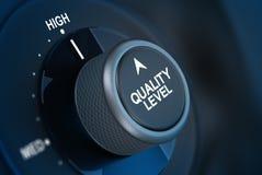Concept total de satisfaction du client de gestion de la qualité Image libre de droits