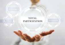 Concept For Total Participation Royalty Free Stock Image