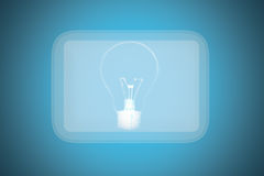 Concept, touch screen electrical switch. Stock Images