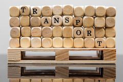 Concept transport and  logistic Royalty Free Stock Photo