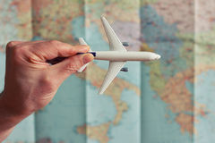The concept of travel. Royalty Free Stock Image