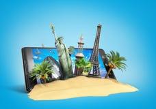 Concept of travel Stock Photo
