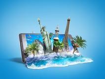 Concept of travel Stock Photos