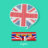Concept of travel or studying English. Royalty Free Stock Photo