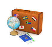 Concept travel. Royalty Free Stock Photo
