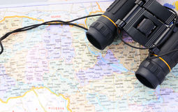 Concept of traveling to Ukraine Stock Images
