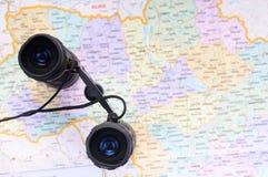 Concept of traveling to Ukraine Stock Image