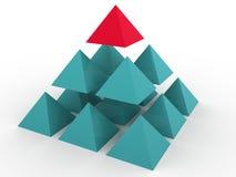 Concept tridimensionnel Image stock