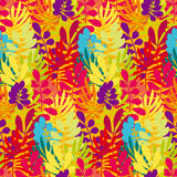 Concept tropical leaves vector illustration Stock Photography