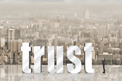 Concept of trust Royalty Free Stock Photography