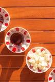 Concept of turkish tea accessories Stock Photo