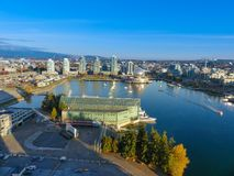 Concept urbanisation modern architecture Vancouver BC Royalty Free Stock Photography
