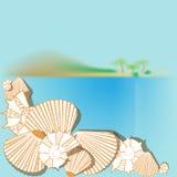 Concept of vacation at sea Royalty Free Stock Photo
