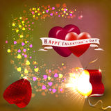 The concept of Valentine's Day Royalty Free Stock Image