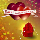 The concept of Valentine's Day Royalty Free Stock Photos