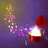 The concept of Valentine's Day Royalty Free Stock Photo