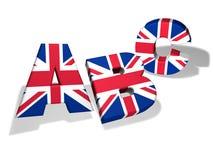 Concept van de Abc het Engelse School Stock Foto's