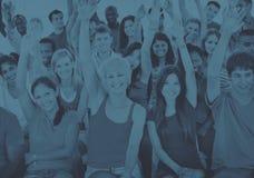 Concept van de de Conferentielezing van variatie het Communautaire Mensen royalty-vrije stock afbeeldingen