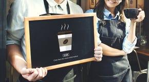 Concept van de de Ochtendhitte van de koffiekop het Hete Royalty-vrije Stock Fotografie