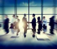 Concept van de de Vergaderingsbespreking van het bedrijfs het Collectieve Mensenvennootschap Stock Foto