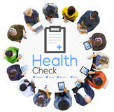 Concept van de de Voorwaardenanalyse van de Gezondheidscontrolediagnose het Medische Stock Afbeelding