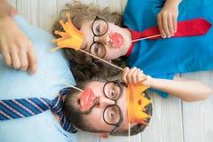 Concept van de vaderdag het Internationale Vakantie royalty-vrije stock afbeeldingen