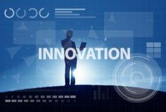 Concept van de de Verbindingstechnologie van het computernetwerk het Digitale stock foto's
